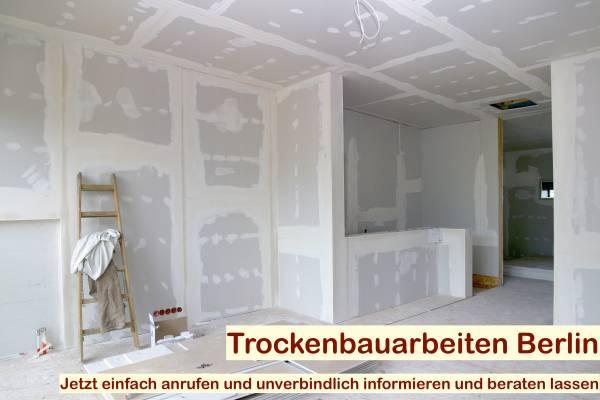 DIN 18340 Trockenbauarbeiten Berlin