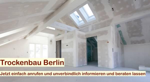 Dachausbau Trockenbau Berlin