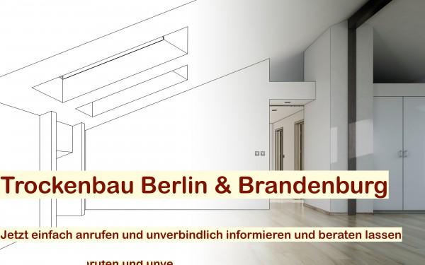 Trockenbau Berlin - Trockenbauarbeiten