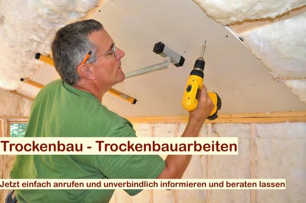 Trockenbau Berlin - Brandenburg Trockenbauer