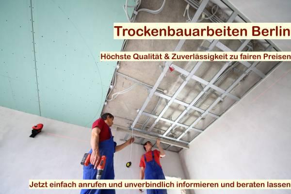 Bevorzugt Trockenbau Decke abhängen | Trockenbau Berlin BG37