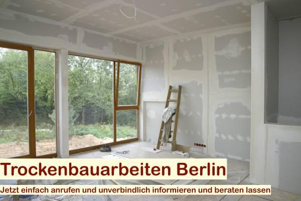 Trockenbauarbeiten Berlin - Trockenbauer